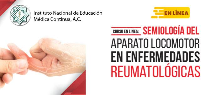 Curso en línea Semiología del Aparato Locomotor en Enfermedades Reumatológicas