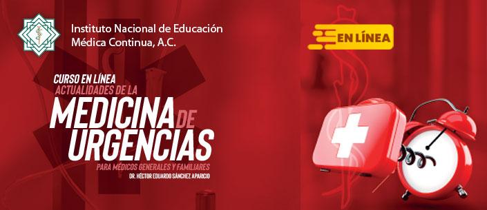 Curso en línea: Actualidades de la Medicina de Urgencias para médicos generales y familiares